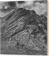 Pahranagat Mountains Wood Print