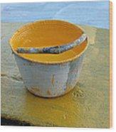 Paint Bucket Wood Print