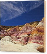 Paint Mines Beauty Wood Print