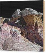 Paint Mines IIi-the Vertex Wood Print