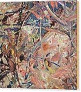 Paint Number 53 Wood Print