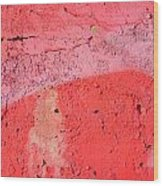 Paint Wall Texture Wood Print