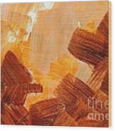 Painted Background Texture Wood Print