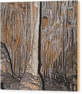 Painted Grotto Carlsbad Caverns National Park Wood Print