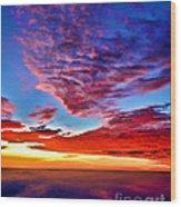 Painted Heavens Wood Print