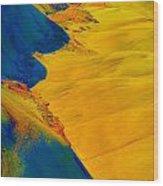 Painted Hills 3 Wood Print