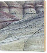 Painted Hills Oregon 8 Wood Print