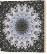 Painted Kaleidoscope 16 Wood Print
