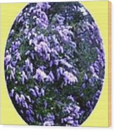 Painted Lilacs Wood Print