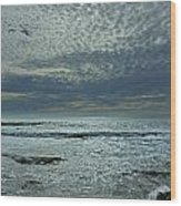 D3a6136-painted Sky Bolinas Ca  Wood Print