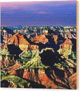 Painting The Grand Canyon National Park Wood Print