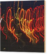 Painting With Light 3 Wood Print