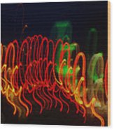 Painting With Light 5 Wood Print
