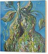 Pair Of Pears Wood Print