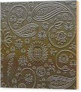Misc. - Paisley Wood Print