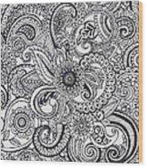 Paisley Wood Print