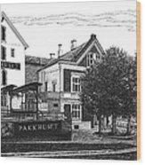 Pakkhuset Wood Print
