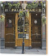 Palace Bar - Dublin Ireland Wood Print