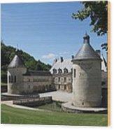 Palace Bussy - Rabutin - Burgundy Wood Print