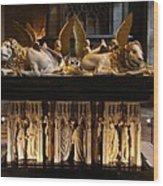 Palace Dijon - Salle De Gardes Wood Print