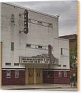 Palace Movie Theater Wood Print