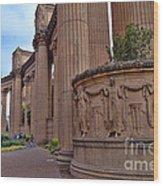 Palace Of Fine Arts -3 Wood Print