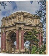 Palace Of Fine Arts - San Francisco California Wood Print