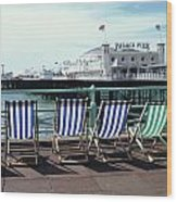 Palace Pier Brighton Wood Print