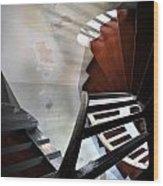 Palace Stairs Wood Print