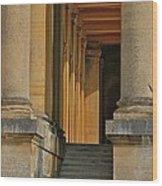 Palace Step Wood Print