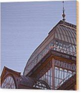 Palacio De Cristal Wood Print