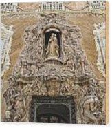 Palacio Del Marques De Dos Aguas Wood Print