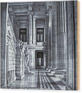 Palais De Justice Wood Print