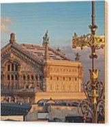 Palais Garnier Wood Print