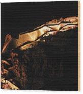 Palamidi Fortress Wood Print by David Waldo