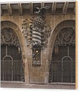 Palau Guell 1886 To 88 Gaudi Barcelona Spain Dsc01413 Wood Print
