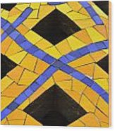 Palau Guell Chimney Wood Print