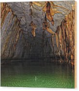 Palawan Underground River Wood Print