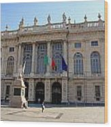 Palazzo Madama In Turin Wood Print