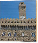 Palazzo Vecchio In Florence Wood Print