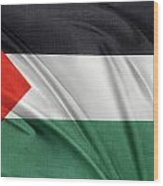 Palestine Flag Wood Print