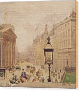 Pall Mall From The National Gallery Wood Print