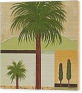 Palm Desert Wood Print