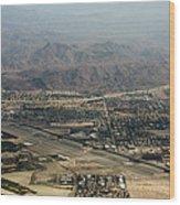 Palm Springs International Airport Wood Print