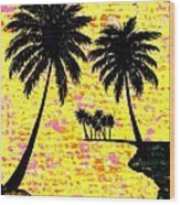 Palm Sunday Wood Print
