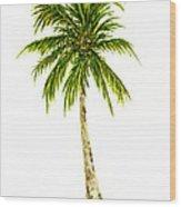 Palm Tree Number 4 Wood Print