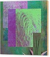Palmier Wood Print