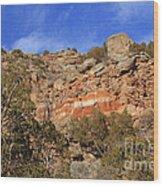 Palo Duro Canyon 021713.102 Wood Print