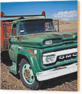 Palouse Gmc Truck Wood Print
