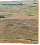 Palouse Palate Wood Print